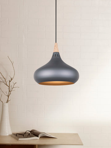 Orient Black Scandinavian Pendant Lamp | Buy Hanging Lights Online India