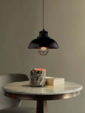 Conrad Industrical Cage Hanging Light | Buy Industrial Ceiling Lights Online India