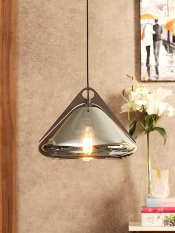 Radian Silver Pendant Light | Buy Luxury Hanging Lights Online India