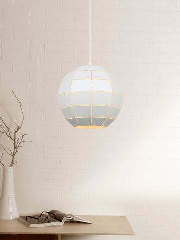 Aerian White Pendant Lamp | Buy Luxury Hanging Lights Online India