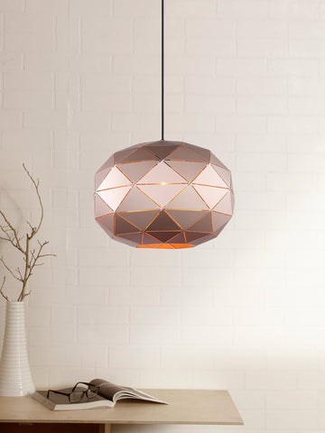 Glorian Copper Pendant Lamp | Buy Modern Hanging Lights Online India