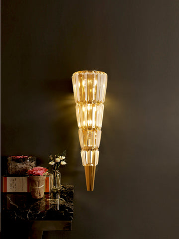 Chloris | Buy Crystal Wall Lamps Online in India | Jainsons Emporio Lights