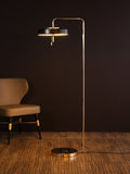 Revolve Black Gold Floor Lamp | Buy Modern Floor Lamps Online India