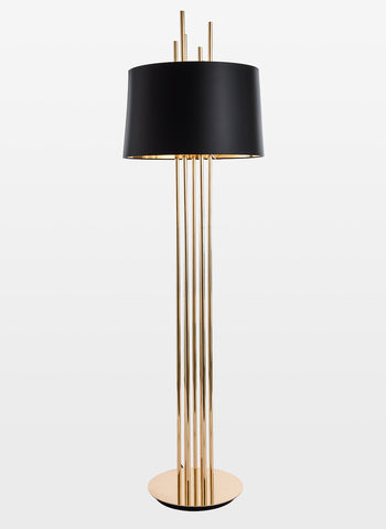 Mildred black gold floor lamp buy luxury floor lamps online india