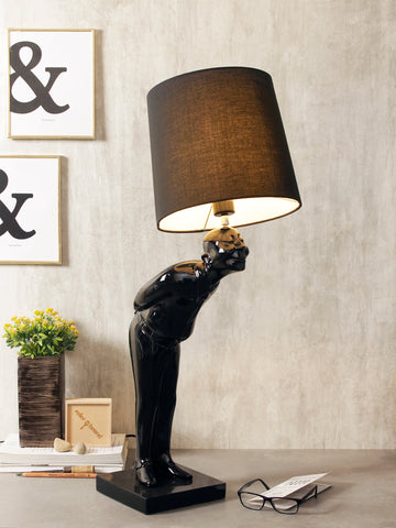 Greeting man modern table lamp buy luxury table lamps online india