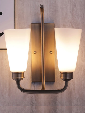 Rubella Double Vintage Wall Lamp| Buy Luxury Wall Lights Online India