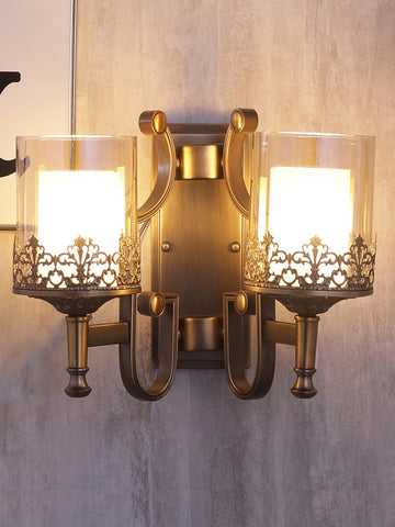 Marville Double Vintage Wall Lamp| Buy Luxury Wall Lights Online India