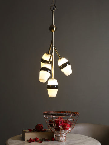 Athen 4-Lamp | Buy LED Hanging Lights Online in India | Jainsons Emporio Lights