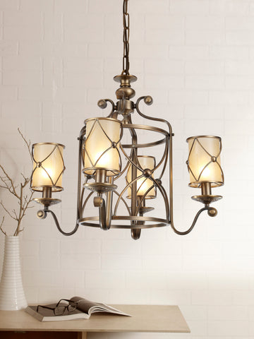 Michelle Traditional Gold Chandelier | Buy Decorative Chandeliers Online India