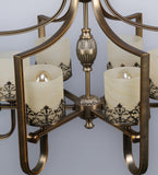Selville Traditional Chandelier | Buy Luxury Chandeliers Online India