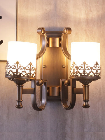 Selville Double Vintage Wall Lamp| Buy Luxury Wall Lights Online India