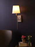 Aiden White Gold Wall Lamp | Buy Modern Wall Light Online India