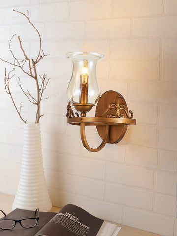 Rudiano Vintage Wall Lamp | Buy Traditional Wall Light Online India