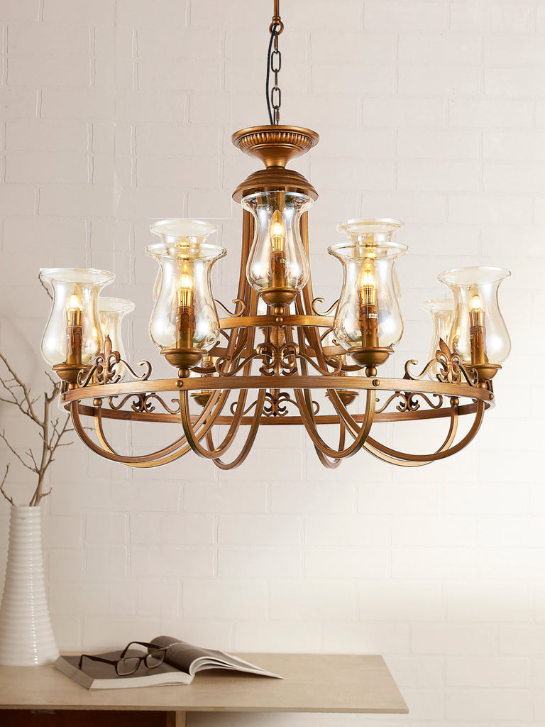 Traditional gold chandelier buy decorative chandeliers online rudiano traditional gold chandelier buy decorative chandeliers online india aloadofball Image collections