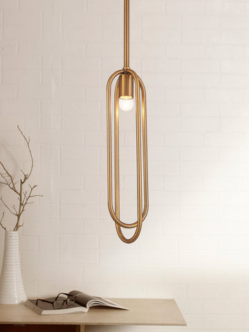 Noelle Traditional Gold Hanging Light | Buy Pendant Light Online India