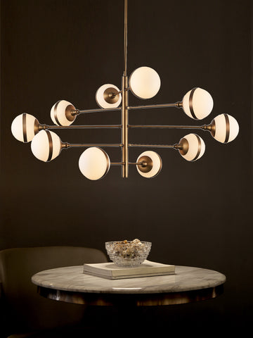 Aquille Gold Chandelier | Buy Modern Chandeliers Online India