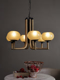 Brielle 6-Lamp | Buy Premium Chandeliers Online in India | Jainsons Emporio Lights