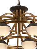 Canber 16-Lamp | Buy Premium Chandeliers Online in India | Jainsons Emporio Lights