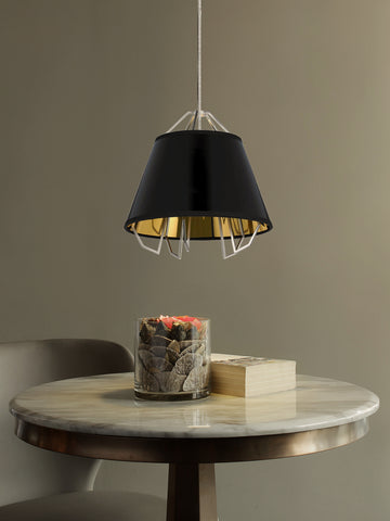 Arctic Black Gold Pendant Light | Buy Decorative Ceiling Lights Online India