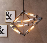 Geometric Tube Pendant Lamp  | Buy Luxury Hanging Lights Online India