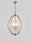 Hilda Silver Crystal Chandelier | Buy Crystal Chandeliers Online India