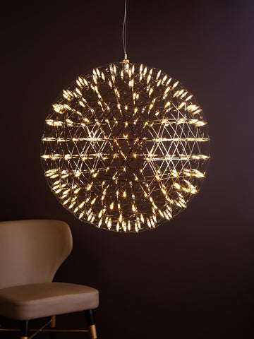 Raimond Gold XL | Buy Chandelier Online in India | Jainsons Emporio Lights