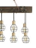 Wire Cage Cluster Vintage Chandelier | Buy Luxury Chandeliers Online India