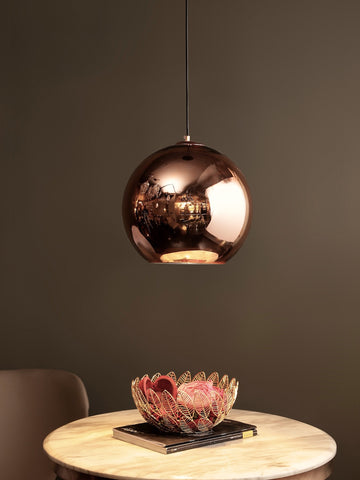 Copper Shade Pendant Lamp | Buy Tom Dixon Hanging Lights Online India