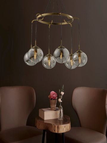 Cora Multi Light Cluster Chandelier | Buy Decorative Ceiling Lights Online India
