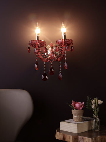 Maria Red | Buy Wall Lights Online in India | Jainsons Emporio Lights
