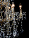 Camila 6-Lamp | Buy Crystal Chandeliers Online in India | Jainsons Emporio Lights