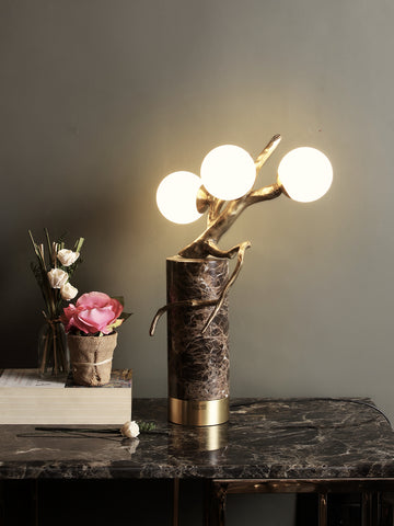 Henry Marble Table Lamp | Buy Luxury Table Lamps Online India