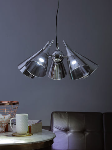 Edwin Silver | Buy LED Chandeliers Online in India | Jainsons Emporio Lights