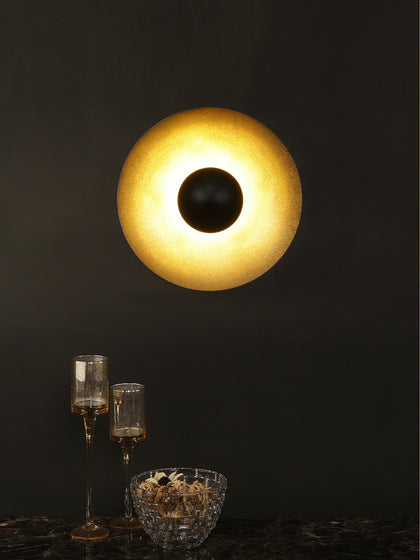Sadel Reflective Dish Wall Lamp| Buy Vintage Wall Lights Online India