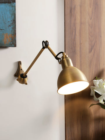Gras Gold Wall Light | Buy Luxury Wall Lights Online India