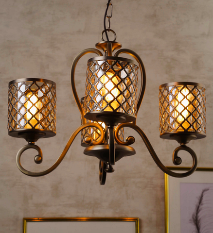 Favella Traditional Chandelier | Buy Luxury Chandeliers Online India