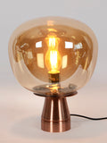Jones Amber Glass Table Lamp | Buy Modern Table Lamps Online India