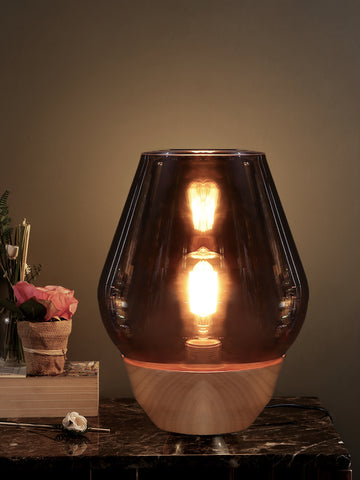 Bowl Smokey | Buy Table Lamps Online in India | Jainsons Emporio Lights