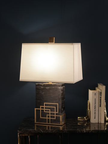 Hesley Marble Table Lamp | Buy Luxury Table Lamps Online India