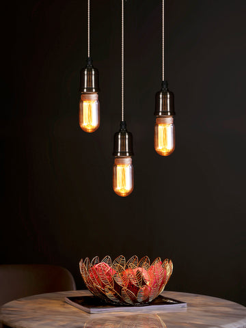 Linton 3-Lamp | Buy Filament Bulbs Online in India | Jainsons Emporio Lights