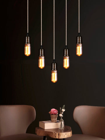 Linton 5-Lamp | Buy Filament Bulbs Online in India | Jainsons Emporio Lights