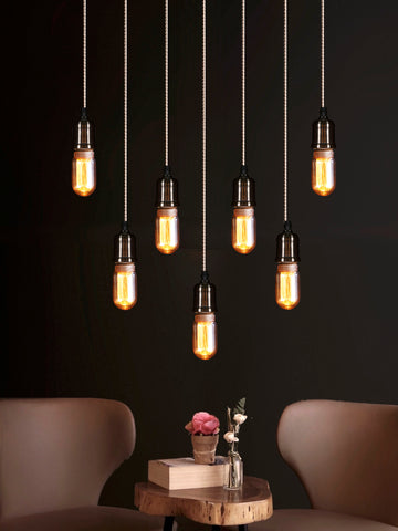 Linton 7-Lamp | Buy Filament Bulbs Online in India | Jainsons Emporio Lights