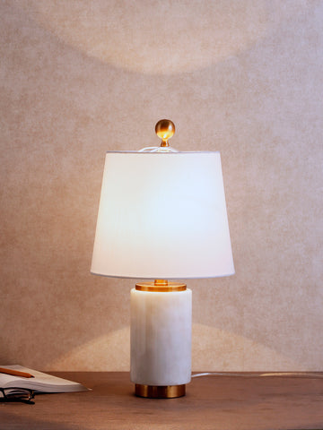 Ernst Marble Luxury Table Lamp | Buy Luxury Table Lamps Online India