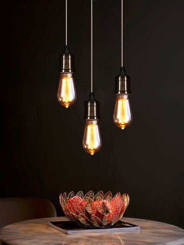Boston 3-Lamp | Buy Filament Bulbs Online in India | Jainsons Emporio Lights