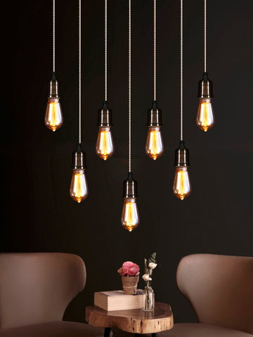 Boston 7-Lamp | Buy Filament Bulbs Online in India | Jainsons Emporio Lights