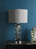 Caleb Grey Table Lamp | Buy Luxury Table Lamps Online India