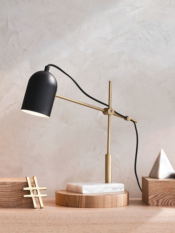 Ermin Marble Black Desk Table Lamp | Buy Luxury Table Lamps Online India