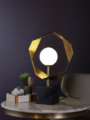 Clifford | Buy Marble Table Lamps Online in India | Jainsons Emporio Lights