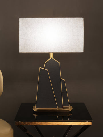 Eden Leather Table Lamp | Buy Luxury Table Lamps Online India