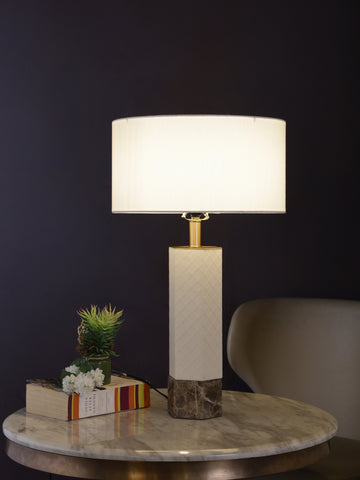 Dawson | Buy Marble Table Lamps Online in India | Jainsons Emporio Lights